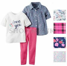 Carter's Toddler Girls 3 Piece Matching Outfit