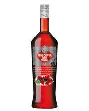 Vodka Moscovia Aromatizzata Alla Fragola Base Cocktail Drink Bottiglia 1 Litro
