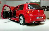1:24 Escala VW GOLF GTI Mark 4 MK4 IV R32 V6 31290 Rojo Maisto Detallado