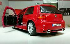 1:24 Scale VW Golf GTI Mark 4 Mk4 IV R32 V6 31290 Red Maisto Detailed Model R-32