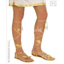 Chaussures dorés pour déguisement et costume