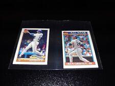 LOT OF (2) 1991 Topps Micro Baseball KEN GRIFFEY JR Mariners #392 & 790 RARE