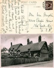 Great Britain Scott 207 Used On Post Card 1929