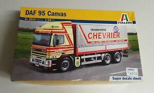 Italeri No. 3914 | 1:24 DAF 95 Canvas Transports Chevrier