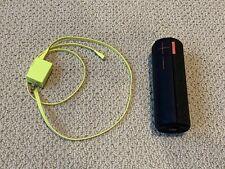 Logitech UE Boom Black Red Wireless Bluetooth Speaker Ultimate Ears