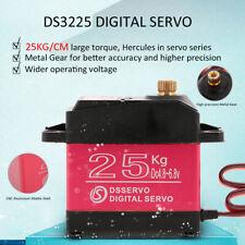 DSSERVO DS3225 25KG Metal Gear High Torque Waterproof Digital Servo for RC