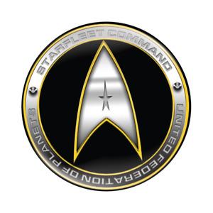 Star Fleet Command - Star Trek Insignia Badge -  58mm Star Trek  Button Badge