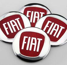 4x 56mm Rot Chrome Radkappen Aufkleber Emblem Felgenaufkleber für Racing sports