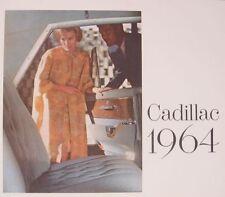 1964 Cadillac Dlx. Brochure, Fleetwood, Eldorado, Limo