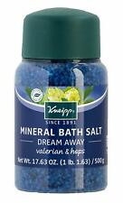Kneipp Mineral Bath Salt, Dream Away, Valerian & Hops, 17.63 fl. oz.