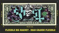 GHOST IMAN BILLETE 1 DOLLAR BILL MAGNET