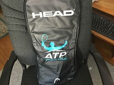 """HEAD ATP PRO TENNIS RACQUET 4 3/8"""" -3 WITH WRIST BAND IN MINT CONDITION"""
