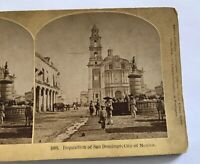 Vintage Stereoview Inquisition of San Domingo Mexico City Kilburn Brothers 1873