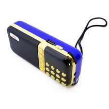 Portable FM Radio USB MicroSD TF MP3 Music Player Speaker