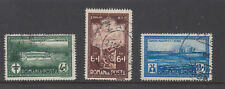 Romania Sc B37 - B39 Postal and Telegraph workers set VF Used