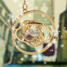 Harry Potter Hermione Converter Time Turner Sand Spin Necklace Pendant Retro New