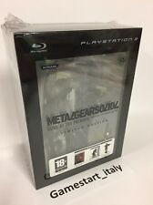 METAL GEAR SOLID 4 LIMITED COLLECTOR'S EDITION PS3 - NUOVO SIGILLATO NEW SEALED