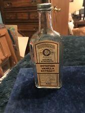 Watkins Vanilla Extract Glass Bottle
