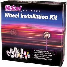McGard 65540BK Black Tuner Style Spline Drive Lug Nut Kit w/Black Caps 1/2 x 20
