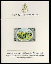 Dominica (411) 1975 Bay Leaf Groves 40c imperf  Format International PROOF  CARD
