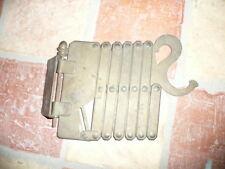 applique bras extensible accordeon en bronze laiton  design vintage