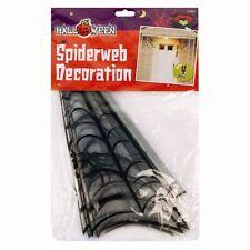 Esquina Araña Decoración Halloween telarañas 4 Pack Fiesta Escena Setter House