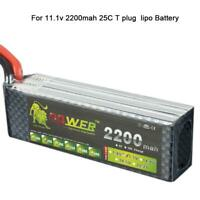 3S 11.1V 2200mAh 25C LiPo Battery for RC Remote Control Car Aircraft Boat