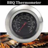 New 50°C-500°C Barbecue BBQ Smoker Grill Thermometer Oven Temperature Gauge