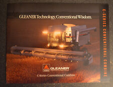 Agco Gleaner Brochure -  C Series Conventional Combine - C62 Cover