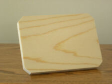 2 Sets of Five (5) Handmade Unfinished Pine Wood Plaques for your Craft Project