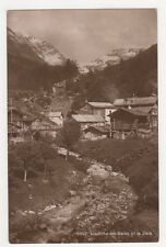 Switzerland, Loueche les Bains et la Dala RP Postcard, B220