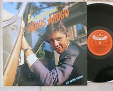 Sacha Distel – Adios Amigo LP mit Peter Kraus Bear Family Records – BFX 15310