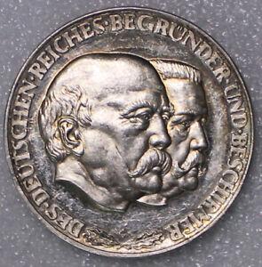 DEUTSCHES REICH DES DEUTSCHEN REICHES BEGRÜNDER + BESCHIRMER BISMARCK HINDENBURG