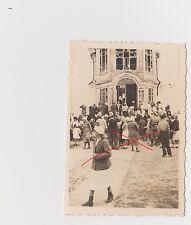Old Photo Original WWII Wedding in Western Ukraine Стара Україна Весілля