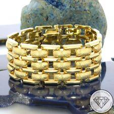 Wert 4.750,- Anschmiegsames 585 / 14 Karat Gelb Gold Armband ca. 18,5 cm xxyy