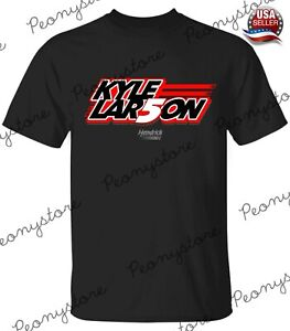 Men's Kyle Larson 1Hendrick Motorsports Team Collection Black T-Shirt S-4XL