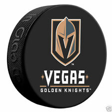 Vegas Golden Knights NEW 2017-18 NHL Team Autograph Model Hockey Puck IN-STOCK!