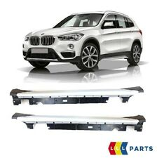 BMW NEW GENUINE X1 SERIES F48 XLINE SIDE SKIRTS WITH CHROME COVER TRIMS KIT SET