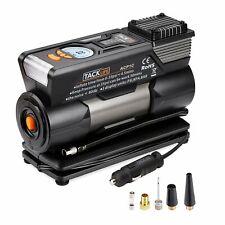 TACKLIFE Black&Orange ACP1C Portable, DC 12V 150PSI Air Compressor Pump, Digital