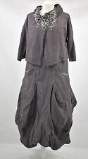 D'CELLI  LAGENLOOK  parachute dress & JACKET SIZE. XL/XXL BARELY BLACK