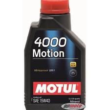 Motul 4000 Mouvement 15W40 1L Huile toute l'année minérale