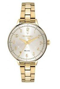 New TRUSSARDI Watch Ladies T Evolution Gold Stainless Steel R2453120502