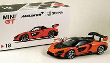McLAREN Senna - 1:64 Mini GT (TSM) MGT00018-R - Mira Orange - NEW and boxed