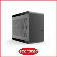 Streacom DA2 Black Mini ITX Case, No PSU