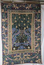 "Wall Tapestry 34""x56"" Arts Crafts Craftsman Tree Of Life Pear Tree Jacquard"