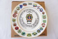 1982 ASLEF South Central Commemorative Railway China Plate Railwayana