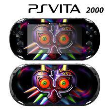 Vinyl Decal Skin Sticker for Sony PS Vita Slim 2000 Zelda Majora's Mask
