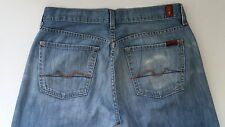 7 For All Mankind Jeans. Relax Straight Leg. Button Fly. 5 Pocket. Size 31
