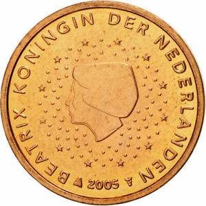[#580374] Pays-Bas, 2 Euro Cent, 2005, FDC, Copper Plated Steel, KM:235