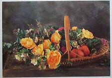 Schöne alte Ansichtskarte AK - Blumenkarte Schneiders Ulrike 10338
